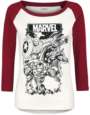 Avengers Long-Sleeve Shirt