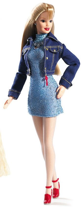 Weekend Barbie With Denim Outfit
