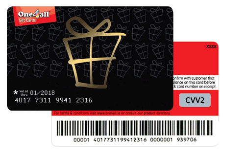 How to spend your One4all Gift Card online