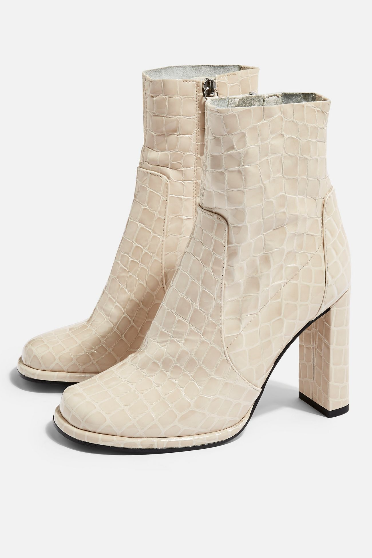 Hattie High Ankle Boots