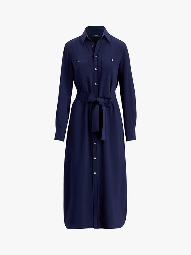 Polo Ralph Lauren Crepe Shirt Dress