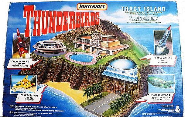 Thunderbirds Tracey Island
