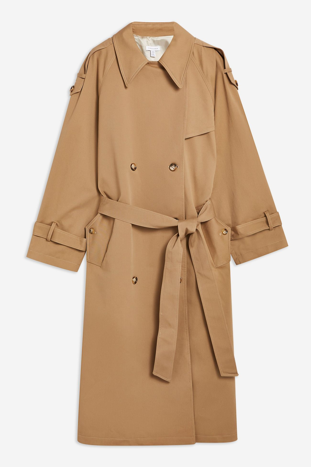 Twill Trench By Boutique