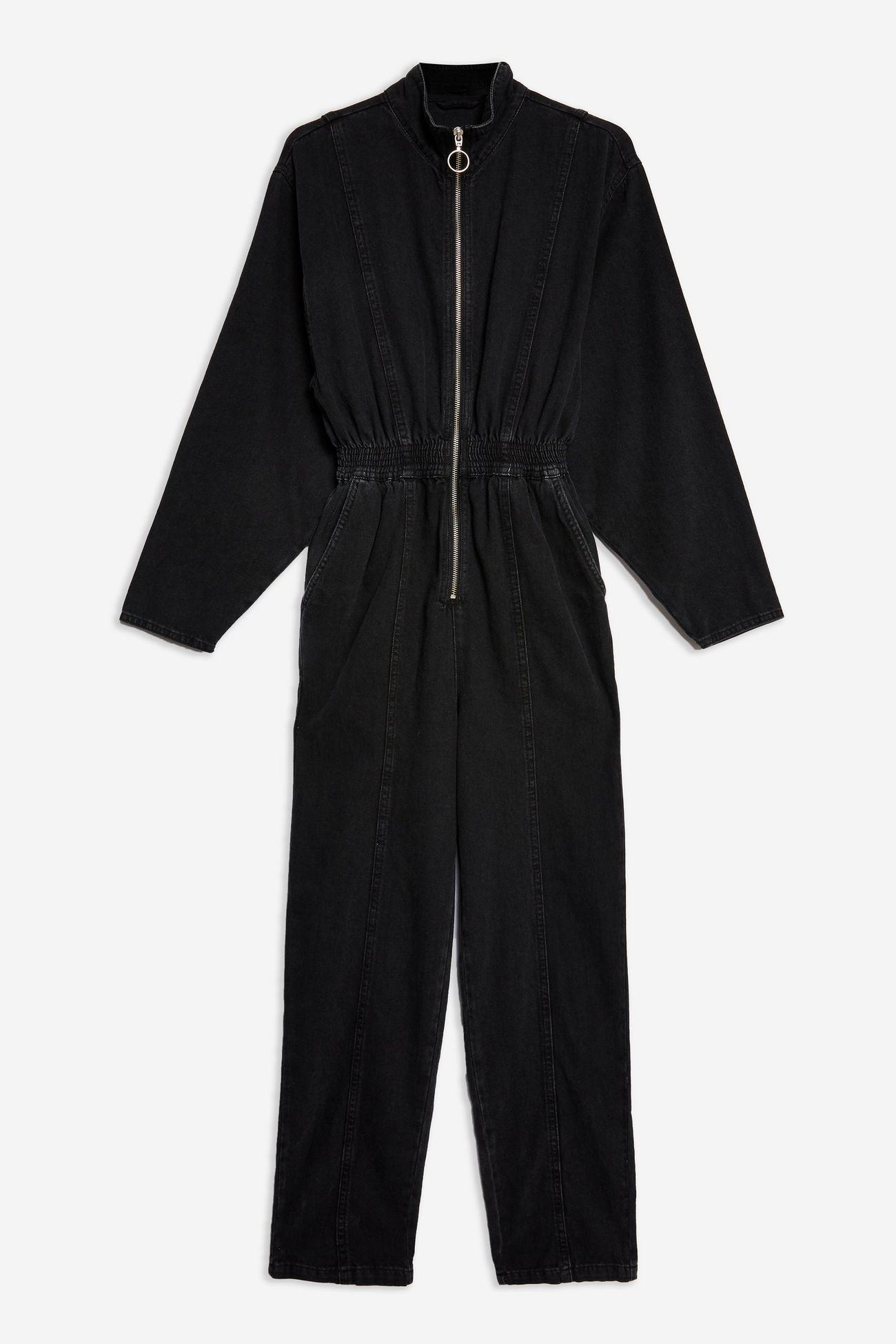 Zip Up Boiler Suit