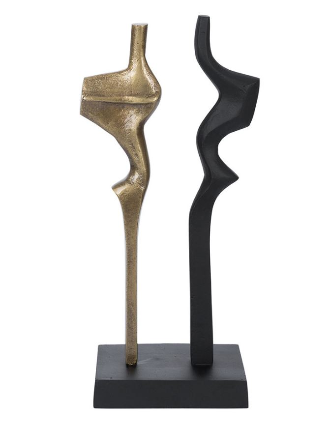 A By Amara Abstract Vertical Sculpture Object