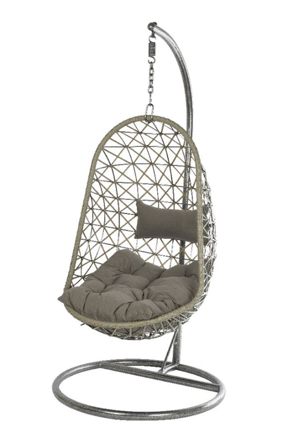 A By Amara Outdoor Oval Wicker Hanging Chair
