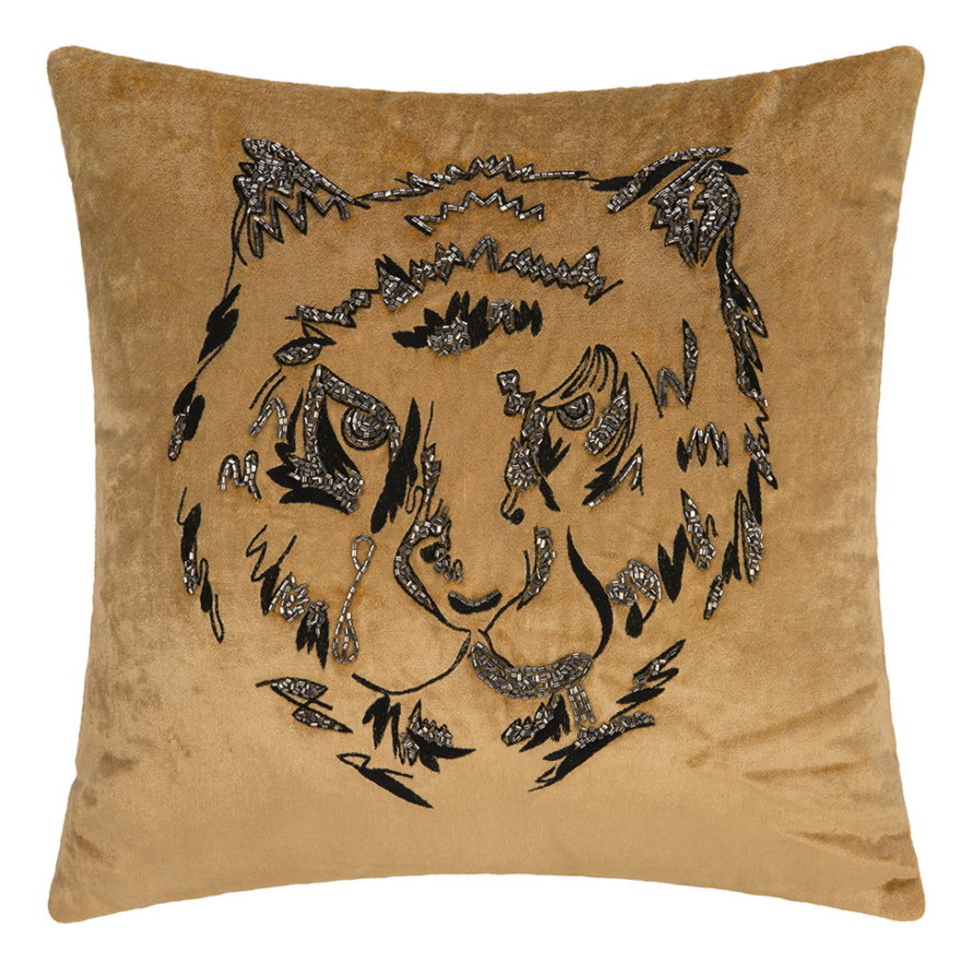 A by Amara Animal Velvet Cushion