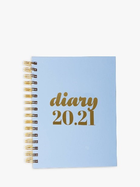 Collins Scandi A5 Mid Year Academic Diary 2020-21, £12.75 from John Lewis