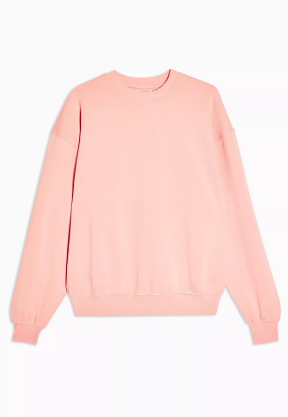 Dusty Pink Stonewash Sweatshirt