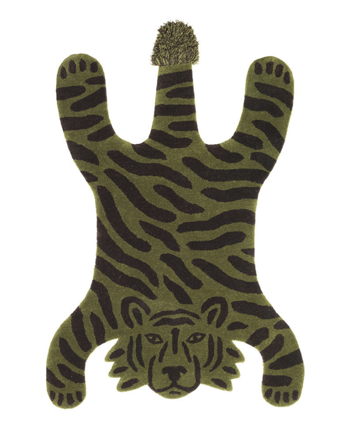 Ferm Living Tiger Safari Tufted Rug
