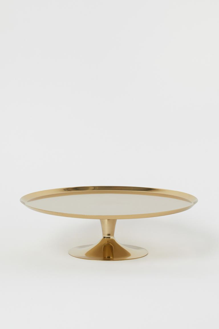 Metal Cake Stand, £19.99 from H&M Home