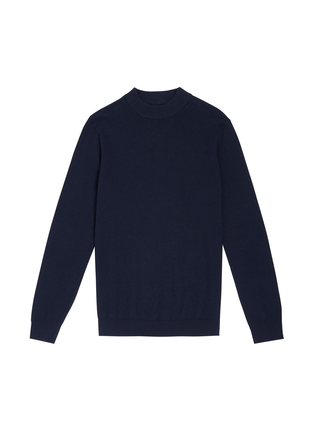 Navy Turtle Neck Jumper, £20.00 from Burton