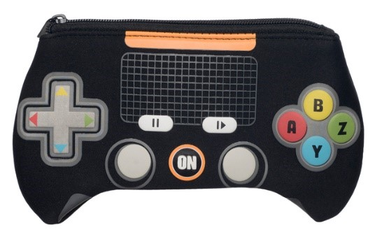 WHSmith Games Controller Black Neoprene Pencil Case, £5.99 from WH Smith