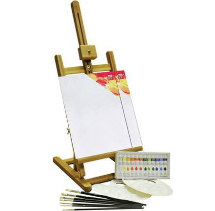YXSH Acrylic Painting Box and Easel Set, £19.99 from Argos