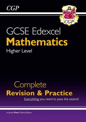 GCSE Maths Edexcel Complete Revision & Practice: Higher - Grade 9-1 Course (with Online Edition) (Paperback), £10.99 from Waterstones