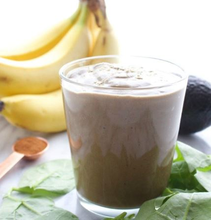 Cinnamon Chocolate Maca Madness Smoothie