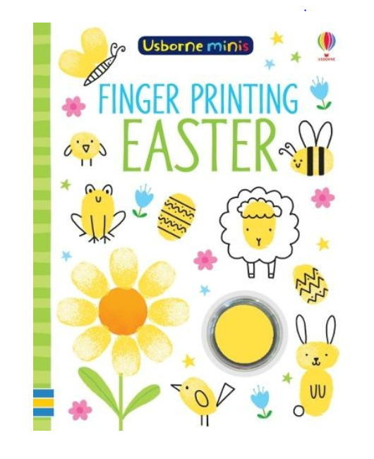 Finger Printing Easter: (Usborne Minis), £3.99 from WH Smith