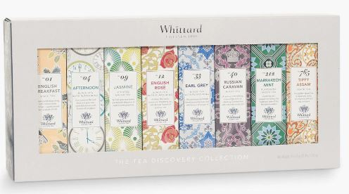 Whittard Tea Discovery Collection, £25 from John Lewis