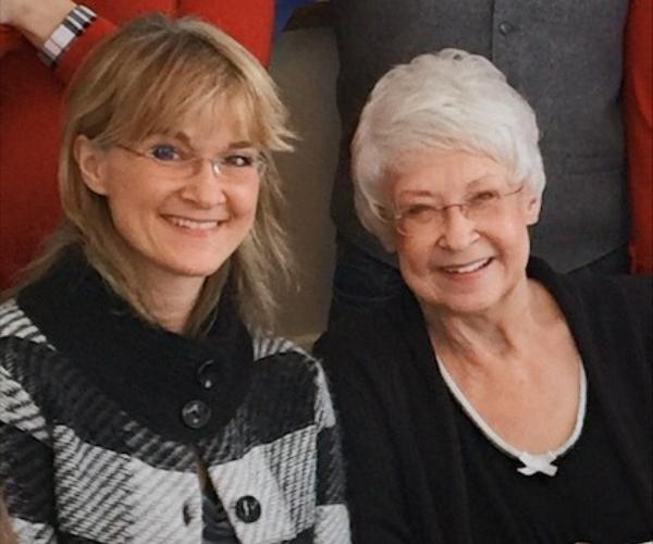 Laura and Carol