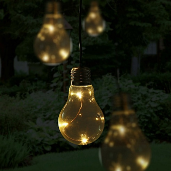 Blooma Fernie Battery-powered Warm white 10 LED External String lights, £16 from B&Q