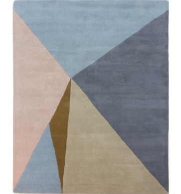 Multicoloured Pastel Patterned Rug £99.99 from TK Maxx