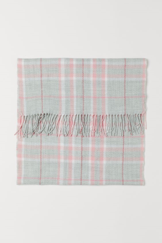 Woven scarf, £8.99 at H&M