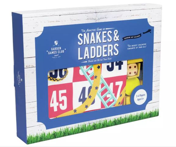 Professor Puzzle Giant Snakes and Ladders Game, £20 from Argos