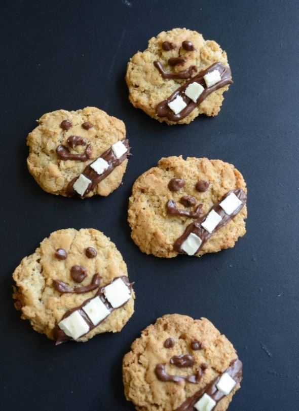 Star Wars Wookiee Cookies