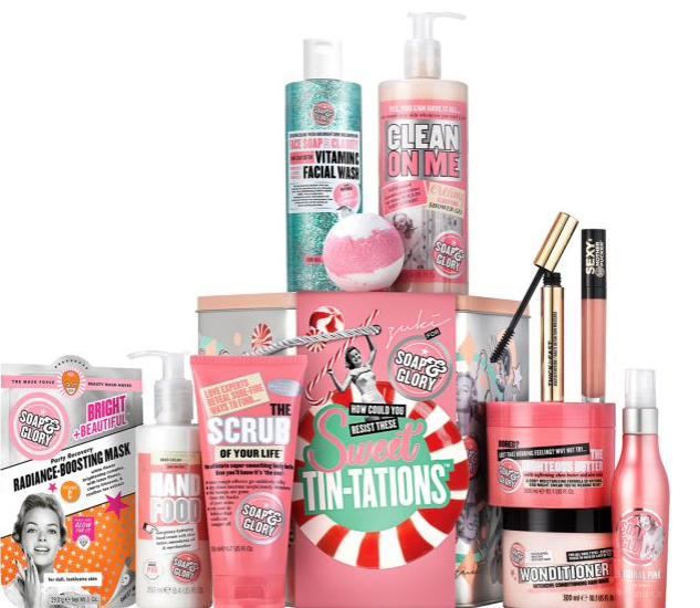 Soap & Glory Sweet Tin-Tations Gift Set, £25.00 from Boots