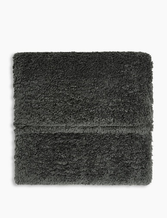 Teddy Fleece Throw, £19.50 from Marks & Spencer
