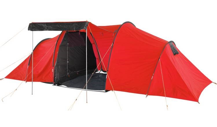 ProAction 6 Man 1 Room Tunnel Camping Tent, £80 from Argos