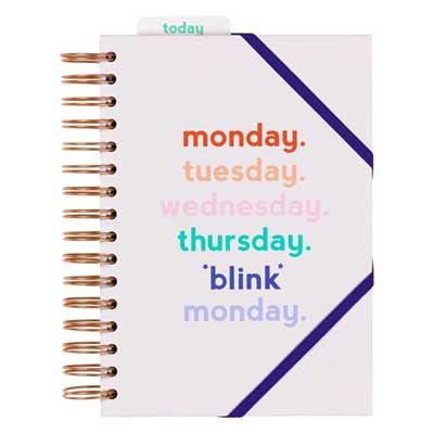 Power Planner Monday Blink, £14.99 from Waterstones