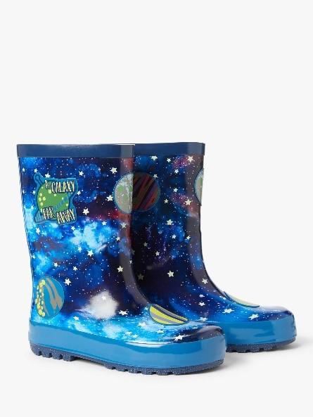 Children's Space Wellington Boots, £18.00 at John Lewis & Partners